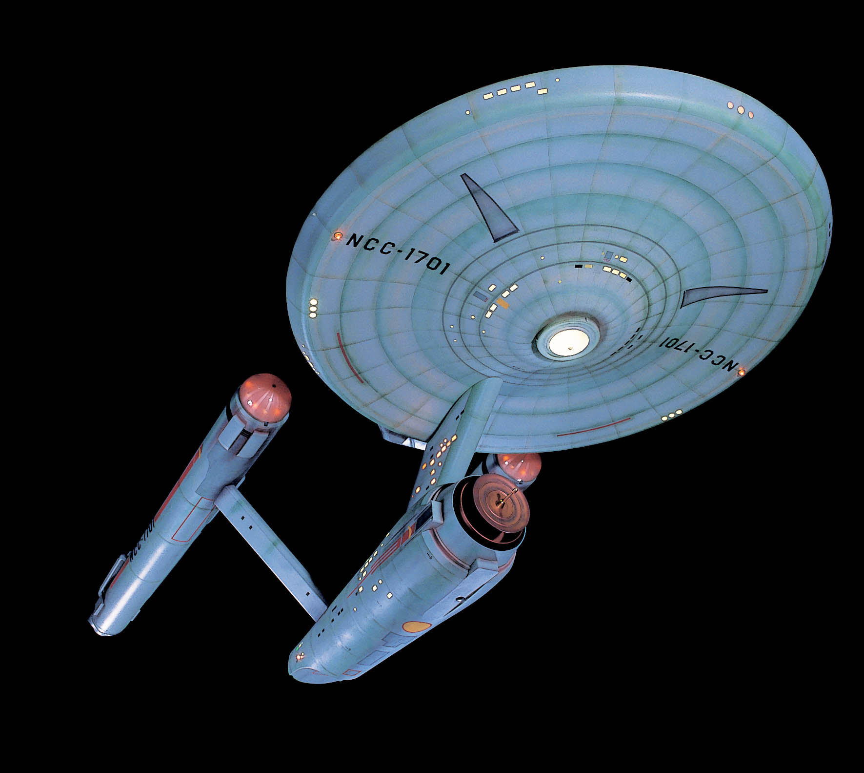 The Starship Enterprise from Star Trek