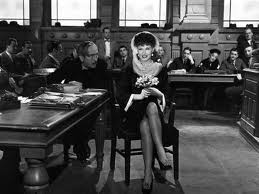 Roxie Hart in the courtroom