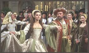 Still from Anne of the Thousand Days of Anne and Henry dancing