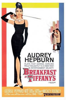 movie poster for Breakfast at Tiffany's