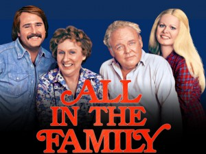 Cast photo of All in the Family