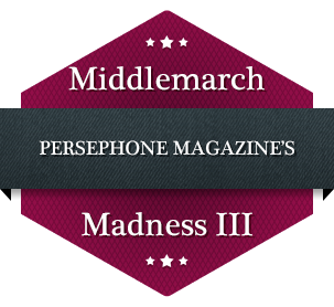 Logo for Persephone Magazine's Middlemarch Madness
