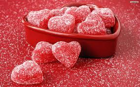 Sugary Jelly Hearts