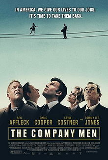 Promotional movie poster for 2010's The Company Men