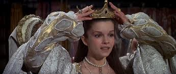Still from Anne of the Thousand Days of Anne's coronation