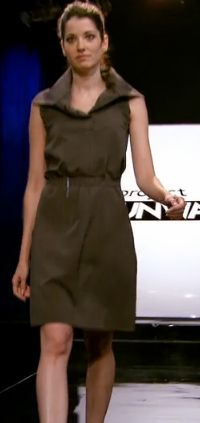 Michelle's outfit for Project Runway episode 11x02.