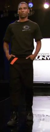 Stanley's outfit from Project Runway episode 11x02.