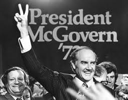 George McGovern at a campaign rally