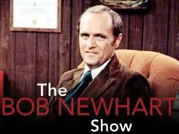 Bob Newhart, captioned The Bob Newhart Show