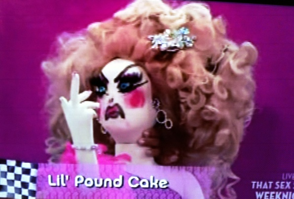 Lil' Pound Cake winning all the pageants like a &*^% @#&^ing $#^&^ lady.