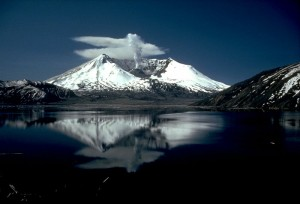 Mount St. Helens and Spirit Lake