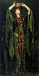 Painting: Ellen Terry as Lady Macbeth by John Singer Sargent