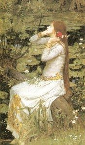 Painting: Ophelia by John William Waterhouse