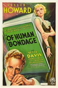 "Movie poster for ""Of Human Bondage"""