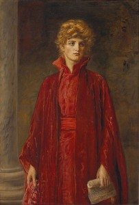 Painting: Portia (Kate Dolan) by John Everett Millais