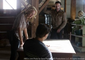 Meeting between Andrea, Rick, and the Governor