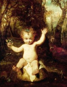 Painting: Puck by Joshua Reynolds