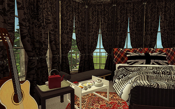 Curtains Ideas black velour curtains : Writing Prompt: Who Lives Here? – Persephone Magazine