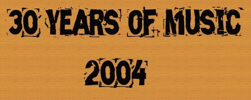 Logo for 30 Years of Music: 2004