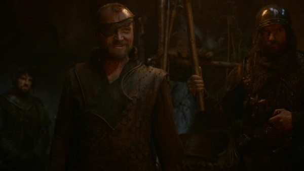 Lord Beric receives a fatal wound