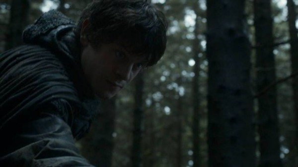 The Boy reaches for Theon's hand