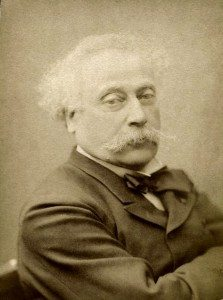 Photo of Alexandre Dumas fils.