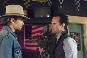 Boyd Crowder and Raylan Givens
