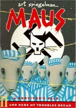 Cover of Maus by Art Speigleman