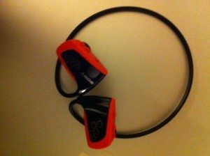Sony Fitness Walkman headset
