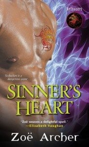 Cover of Sinner's Heart by Zoe Archer