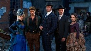 The cast of Ripper Street