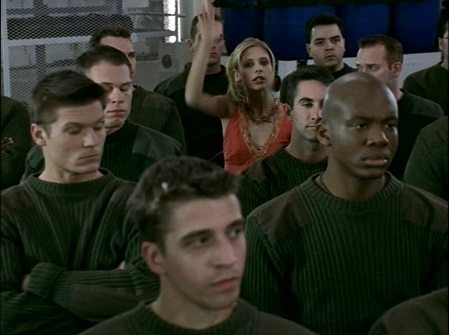 Buffy has a question -- The I in Team