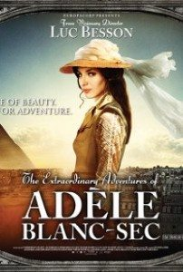 The Extraordinary Adventures of Adele Blanc-Sec movie poster