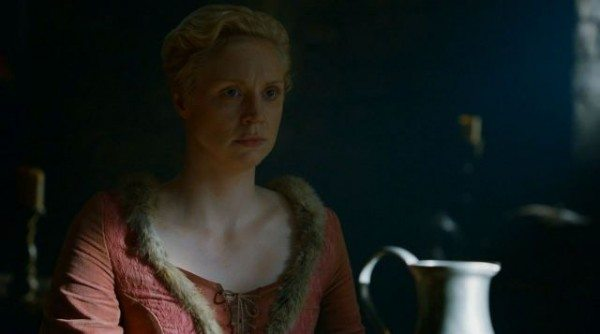 Brienne at Lord Bolton's table