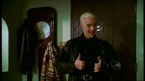 Spike gives two thumbs up
