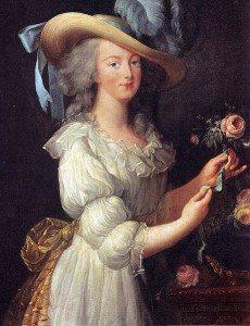 Painting: Marie Antoinette by Louise Élisabeth Vigée Le Brun