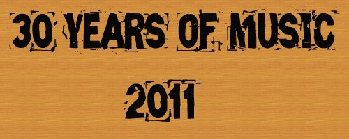 Logo for 30 Years of Music: 2011