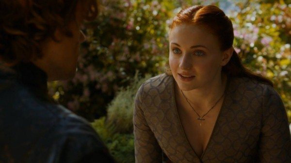 Sansa talks to Tyrion