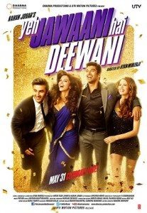 Poster for Yeh Jewaani Hai Deewani.