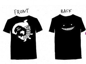 Last Halloween T-shirt, front and back