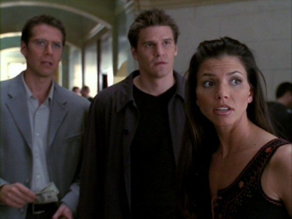 Wesley, Angel, and Cordelia