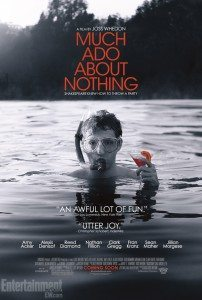 Poster for Joss Whedon's Much Ado About Nothing