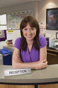 Erin Hannon (Ellie Kemper) in Season 6 of The Office (US).