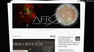 AfroFuturist Affair Homepage