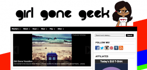 Girl Gone Geek Homepage