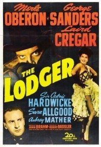 Film poster from the Lodger (1944).
