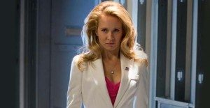 Sarah Newlin's hairspray budget must be enormous. Photo courtesy of HBO.