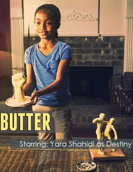 "A better version of the ""Butter"" movie poster."