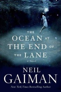 "Cover of  ""The Ocean at The End of the Lane"" by Neil Gaiman."