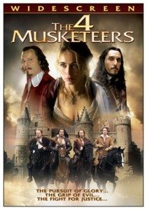 4 Musketeers DVD Cover